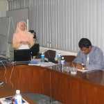 Conduct In-House GMP training @ UNZA